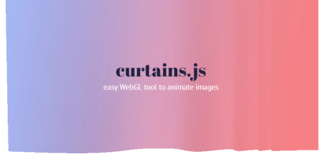curtains js webgl tool to animate images