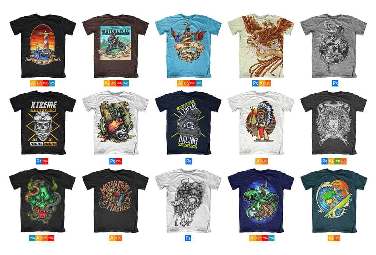 Collar T Shirt Design Maker | RLDM