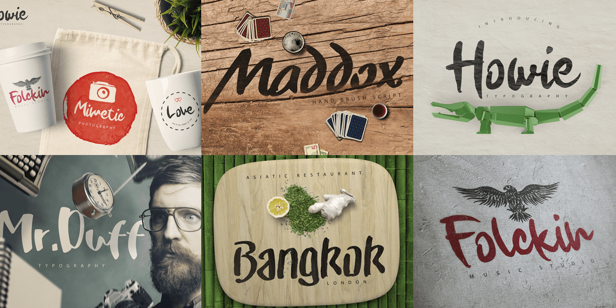 50 Script Multi-language Fonts Including Uppercase, Punctuation