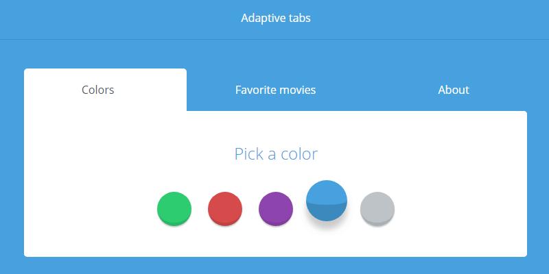 adaptative tabs