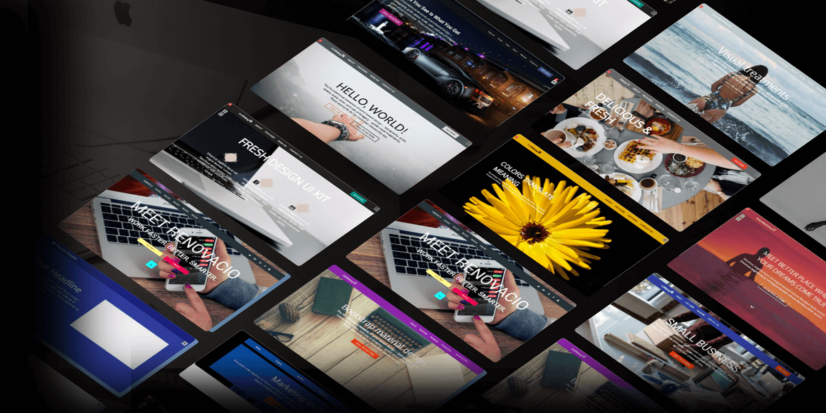 130 Bootstrap Website Templates Bundle With Extended License! | Bypeople