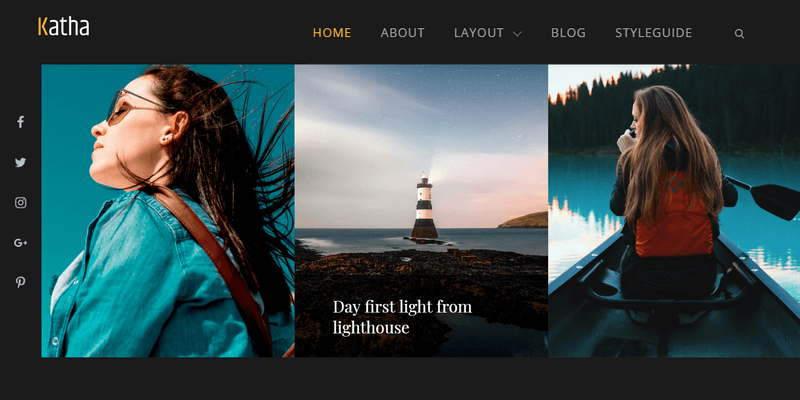 katha portfolio wordpress theme