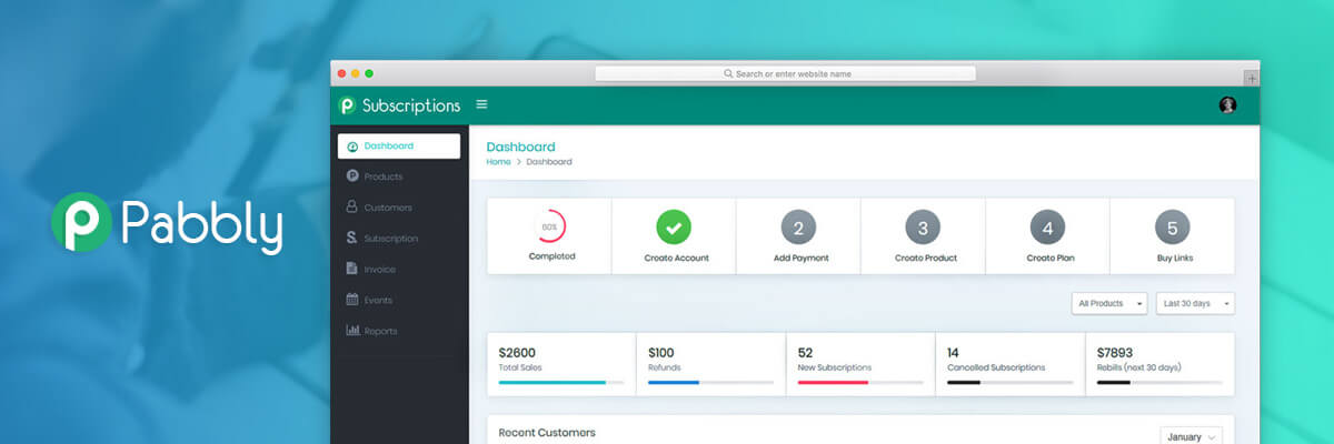 lifetime access payments invoices and recurring billing