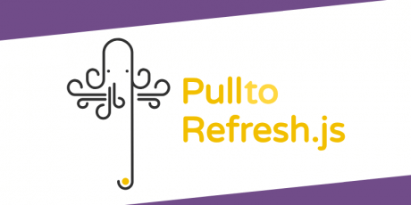 pull to refresh javascript library