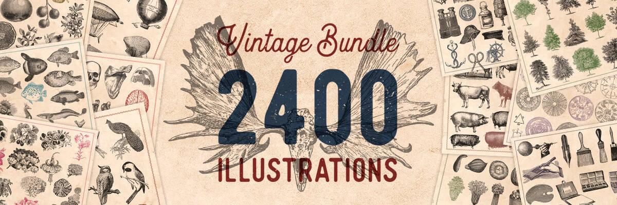 2400 vintage engravings bypeople promo 1