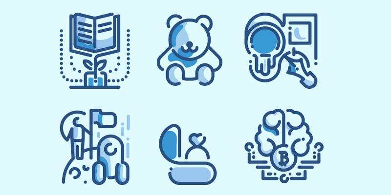 100 Duo Tone Icons Pack Svg Ai Eps Iconjar Bypeople