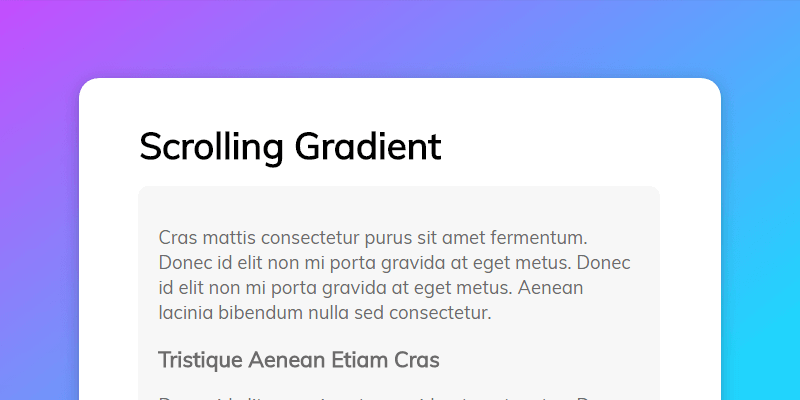 Slide In On Scroll Codepen
