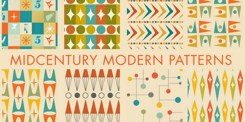 midcentury patterns featured