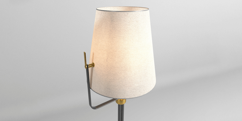 6df72165327c 10 09 2018. This is a 3D model of a floor lamp ...