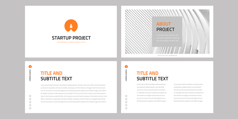 Startup Project: Presentation Template (Slides, Keynote, Powerpoint