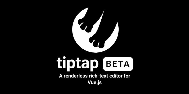 Tiptap: A renderless rich-text editor for Vue js | Bypeople