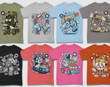 593e9202 273 Vector T-Shirt & Poster Designs, EPS10 Files, Commercial Use ...