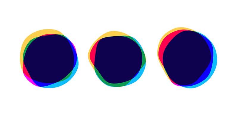 SVG Mixed Blend Bubbles (CSS, TweenMax.JS)