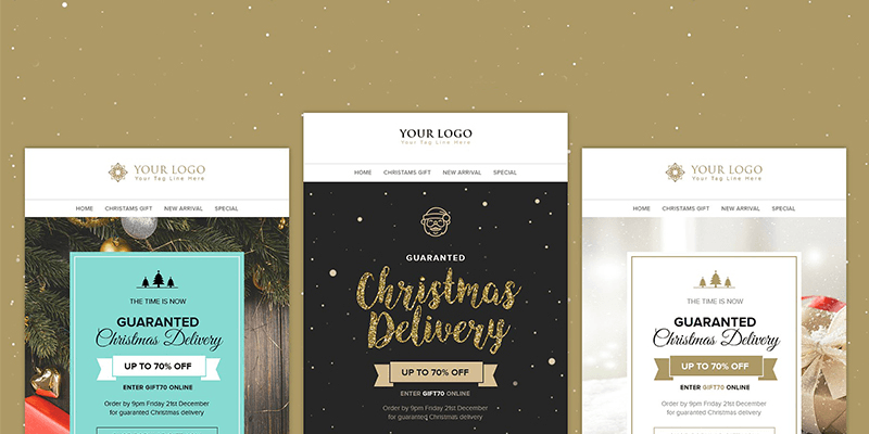 19 christmas email templates newsletter templates litmus tested