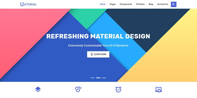 Material Design Bootstrap 4 UI Kit   Bypeople