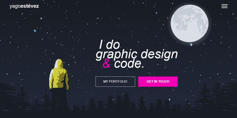 Web Developer Portfolio Design (HTML, CSS, React js) | Bypeople