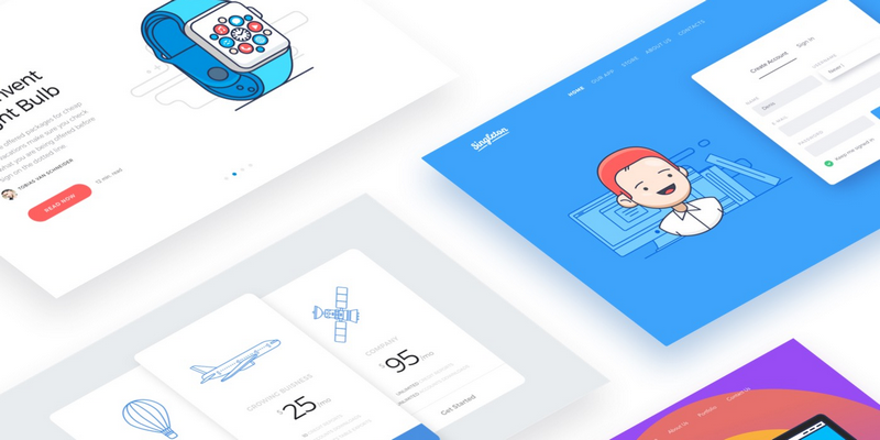 Thousands Of Web Design Assets For Sketch, XD, Figma