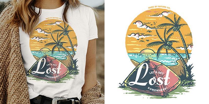 100 Unique Vector T-Shirt Designs, Ai, SVG & EPS Files