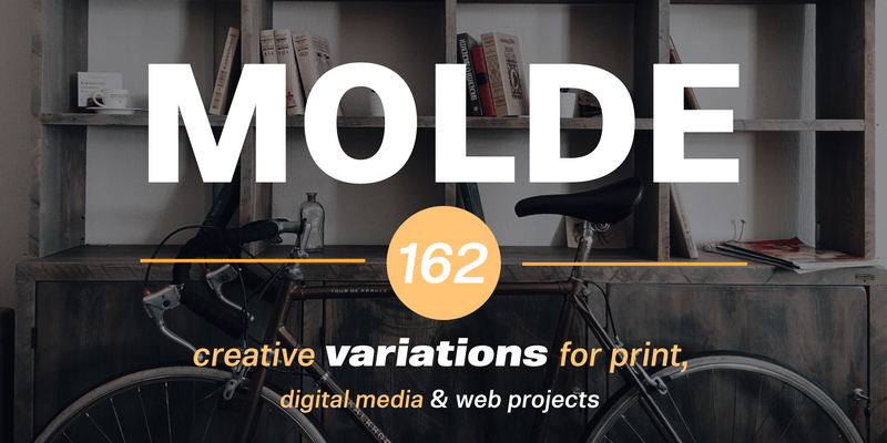 Molde Font Family: Helvetica Alternative With 162 Fonts
