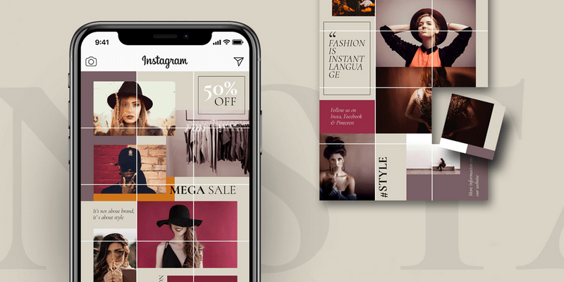 530+ Instagram Templates, Puzzles & Posts Pack, Animated