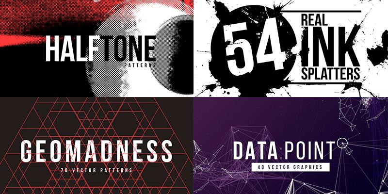 330+ Creative Vector Backgrounds, Textures & Elements – Ai
